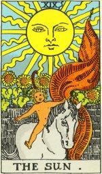Taro korta - Saulė