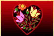Meilės būrimas Valentino dienai