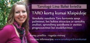 Taro kortų kursai Klaipedoje